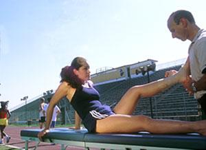 Doctors of Chiropractic help athletes perform;